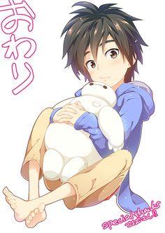 big hero 6 y Best Disney Animated Movies, Disney Movies, Big Hero 6, Japanese Kids, Hiro Hamada, Cartoon As Anime, Anime Version, Kawaii Chibi, Baymax