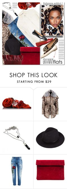 """""""Cute Trend: Granny Flats"""" by barbarela11 ❤ liked on Polyvore featuring Gucci, Vivienne Westwood Anglomania, Dolce&Gabbana, Jeffrey Campbell, contestentry, polyvoreeditorial, polyvoretopics and grannyflats"""