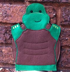 Turtle  Pond Set  Animal Felt Hand Puppet by ThatsSewPersonal, $10.00