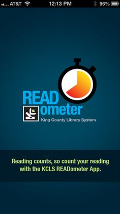 READometer App from Kings County Library System