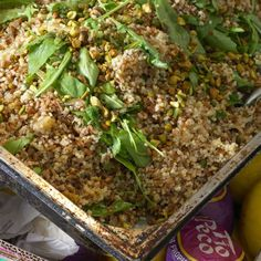 camargue red rice and quinoa with orange and pistachios camargue red ...