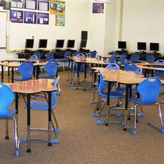 Innovation Desks and Inspiration Chairs provide a unique collaborative and adaptable learning space for the students at Wanaque School in New Jersey. Classroom Design, Classroom Ideas, Student Desks, Learning Spaces, Collaboration, Innovation, Students, Chairs, Handsome