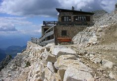 Hotels at the end of the world - Rifugio Torre di Pisa, Fiemme Valley, Italy