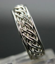 braided ring ... i want one please! thank you.