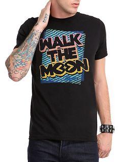 Walk The Moon Neon Logo T-Shirt | Hot Topic
