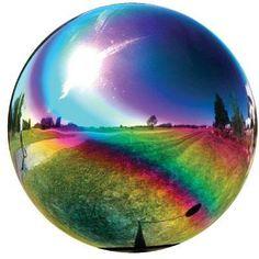 "10"" Globe Rainbow"