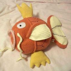 PATTERN: Crochet Pokemon Magikarp. I.NEED.THIS.