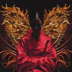 Ida– Hindu goddess of fire and devotion ---Kai Fine Art: Лариса Морейс(Larissa Morais). Poems Beautiful, It Goes On, Fantasy Inspiration, Magazine Art, Figure Painting, Erotic Art, Artist At Work, Art World, Illustration Art