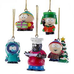 South Park Ornament Set | ThinkGeek