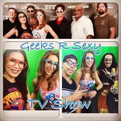 Geeks R Sexy TV Show every Friday 4-5pm on www.wcobm.com