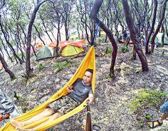 Sometimes you just need to Relax and say FUK IT.  . . .  #instagram #instalike #instasunda #hammock #hammocklife #mountainigers #mountains #like4like #vsco #hammockersindonesia #camping #hanging #gopro #hammockid #indomountain #selfie #neverstopexploring #parapejalan #instapendaki #summit #instagunung #lifeofadventure #id_pendaki #pendakikusam #pondoksaladah by @bangroyz