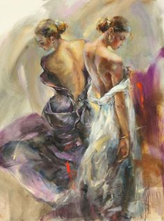 Purple Grace http://www.anna-art.com/paintings/anna_razumovskaya/figurative/12288.html