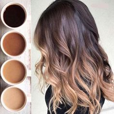 Amazing Balayage color for coffee lovers in 2019 - color . Amazing Balayage color for Brown Ombre Hair, Brown Hair Balayage, Brown Blonde Hair, Hair Color Balayage, Brunette Hair, Hair Highlights, Haircolor, Brunette Balayage Hair Short, Ombre Hair Color For Brunettes