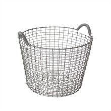 Classic 24 galvanized basket, Korbo.