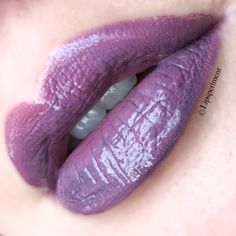 Premix Lipsense to create your own custom colors. I rocked this amethyst lip today that I created by combining TEAM wicked lipsense and Goddess Lipsense