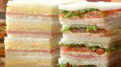 Toma un sandwich / Tea Sandwiches, Sandwich Cake, Sandwich Recipes, Sandwich Jamon Y Queso, Argentine Recipes, Yummy Drinks, Yummy Food, Homemade Frappuccino, Easy Smoothie Recipes