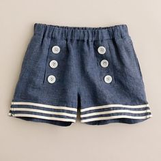 These are the most adorable shorts! My girls need these!
