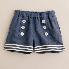 Easy sailor shorts