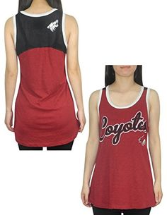 Compare prices on Arizona Coyotes Bikinis from top online sports fan gear retailers. Save big when buying your favorite sports team lingerie. Arizona Coyotes, Vintage Tops, Nice Tops, Nhl, Athletic Tank Tops, Lingerie, Bikinis, Women, Fashion
