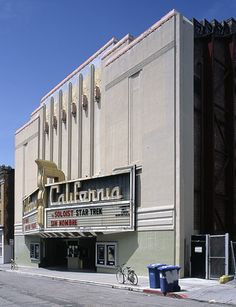 California Theater, Berkeley, California, by Albert W. Cornelius in 1920