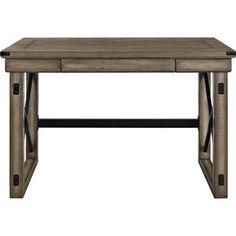 Altra Wildwood Wood Veneer Desk - 16088930 - Overstock - Great Deals on Altra Desks - Mobile