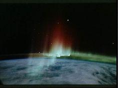 Aurora Borealis seen from space (NASA)