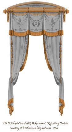 1815 French Curtain - Grey by EveyD on DeviantArt