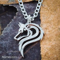 Hey, I found this really awesome Etsy listing at https://www.etsy.com/listing/219734880/lone-wolf-necklace-hand-cut-jewelry-us