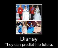Disney can predict the future.