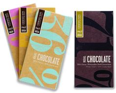 Beautifully Wrapped Chocolate Bars (NOTCOT)