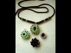 Clever String-Wrapped Stones, Cabochons, and Shells Jewelry Patterns