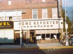 Local Bay Ridge newspaper, the Home Reporter, corner 3rd Avenue and 88th Street, 1977