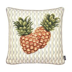 Coussin pineapple gray background - Cushions - Art de Lys
