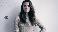 The Swedish actress Alicia Vikander, star of Ex Machina and Testament of Youth