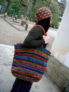crochet hat & bag