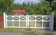 Dreamhouse Ett Vitt Staket Grindar Pinterest Fences
