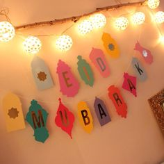 30 Best Of Eid Decoration Ideas . Set Eid Mubarak Balloons Ramadan Decoration Gold Silver islamic Eid Balloons for Muslim Party Supplies Mubarak Ramadan, Eid Mubarak Wishes, Eid Mubarak Banner, Eid Crafts, Ramadan Crafts, Crafts For Kids, Paper Crafts, Diy Eid Decorations, Party