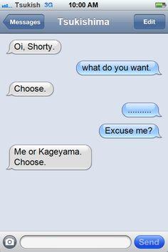 CHOOSE. NOW.   FUCK YOU FOR MAKING HIM CHOOSE.   STILL..   CHOOSE!!!