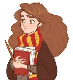 Hermione http://nyoncat.tumblr.com/ this is what i feel i look like. every. day. at. school.
