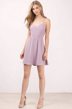 Shop Fit and Flare Skater Dresses at Tobi. Whether it's a white lace skater dress, black long sleeve or red skater dress - find it here. Off First Order! Banquet Dresses, Hoco Dresses, Homecoming Dresses, Sexy Dresses, Cute Dresses, Pink Dresses, Purple Dress, Light Blue Skater Dress, Red Skater Dress
