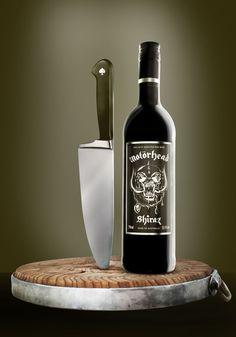 Motörhead Shiraz = vino para chicas duras.