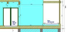 440. Столовая - схема монтажа втроенных конвекторов по оси 9