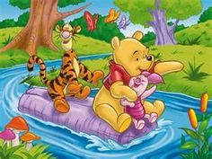 """Sometimes, if you stand on the bottom rail of a bridge and lean over to watch the river slipping slowly away beneath you, you will suddenly know everything there is to be known."" - Winnie the Pooh"