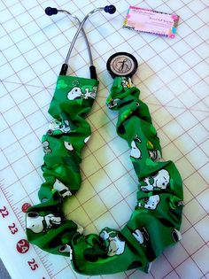 Snoopy's Good Luck Stethoscope cover by ADashofSouthernCharm, $8.00