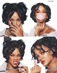 Rihanna for NME Magazine