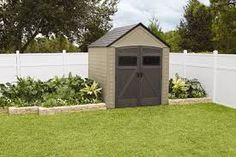 rubbermaid roughneck 321319 shed accessories - Google Search
