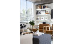 Shelving in Lounge Room