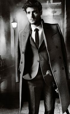 'The Gentleman': The Burberry Autumn/Winter 2012 campaign featuring Roo Panes