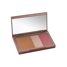 URBAN DECAY Naked Flushed blush palette ($34) ❤ liked on Polyvore featuring beauty products, makeup, cheek makeup, blush, urban decay blush and urban decay