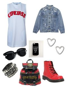 Untitled #17 by ezerys on Polyvore featuring polyvore, fashion, style, T.U.K., Coven, Oliver Peoples and clothing